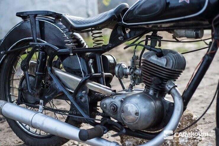 история мотоцикла Минск