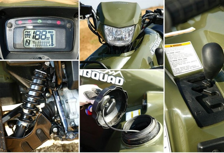 Квадроцикл SUZUKI KING QUAD 750 (2008)