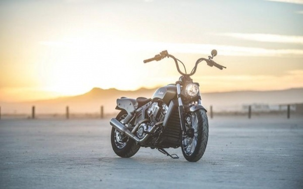 Кастом Outrider на базе Indian Scout06