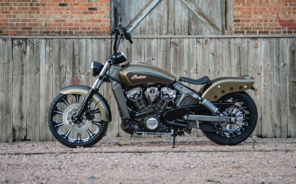 Кастом Outrider на базе Indian Scout07