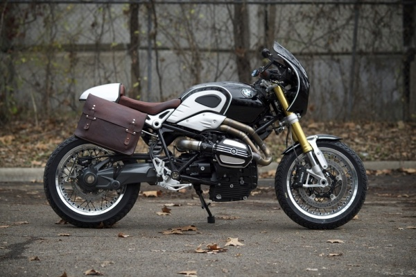 Кастом Revival Cycles Bison на базе BMW R nineT