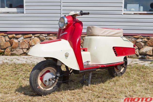 «Турист» пошел в серию со старым 200‑кубовым мотором.