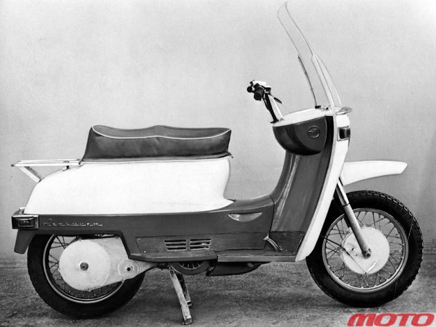 Концепт-скутер советских времен – «Конек-горбунок».