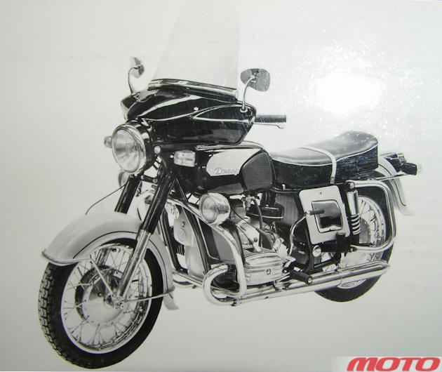 «Предназначенный для экспорта в высокоразвитые страны» мотоцикл «Днепр-10.6».