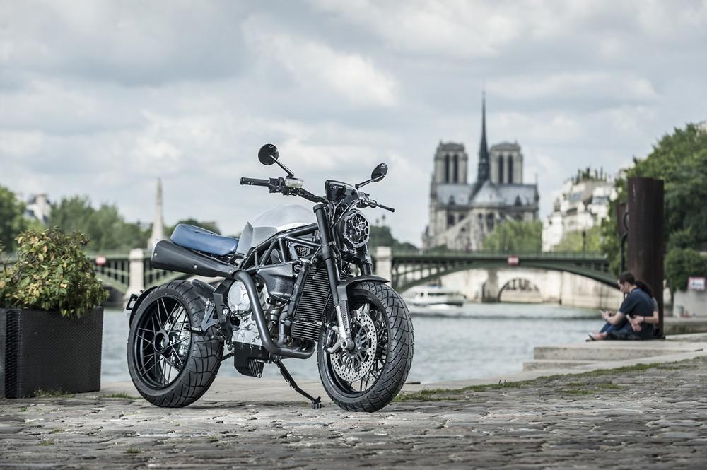 Самодельная выхлопная для мотоцикла