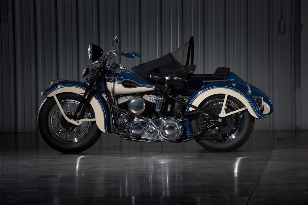 1941 HARLEY-DAVIDSON MOTORCYCLE WITH SIDECAR - МОЙ МОТОЦИКЛ