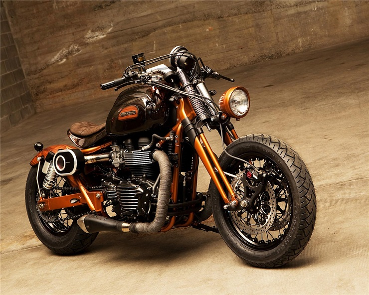 мотоцикл Triumph Bonneville в версии Officine Gp Design мой мотоцикл