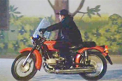 Путешествие мотоцикла Днепр по пустыне Сахара 8