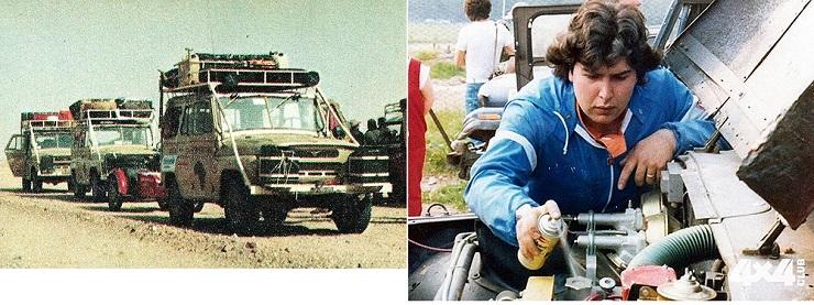 Путешествие мотоцикла Днепр по пустыне Сахара