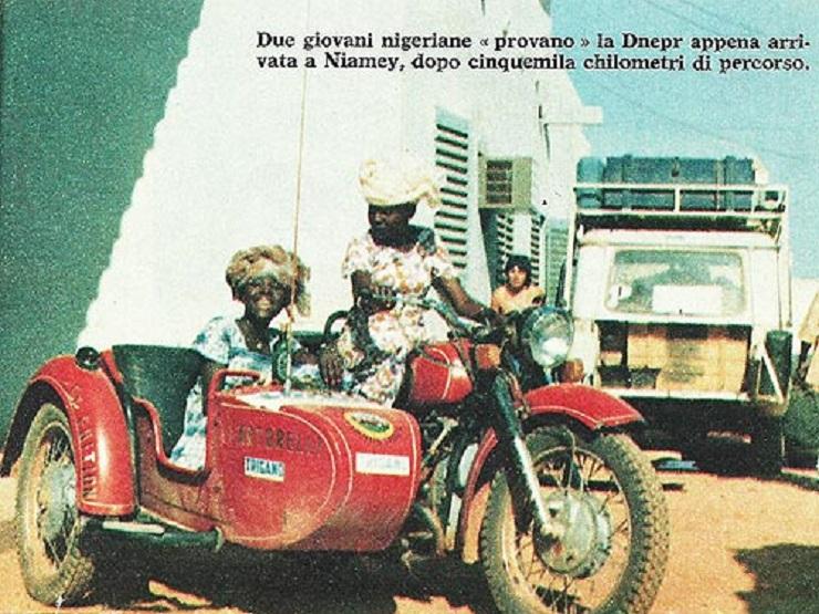 Украинский мотоцикл Днепр пересек пустыню Сахара задолго до ралли Париж-Дакар