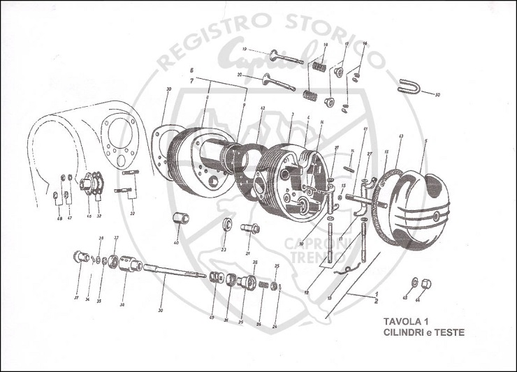 Косуля Сто50, 1953 - 1956 Capriolo Cento50 4