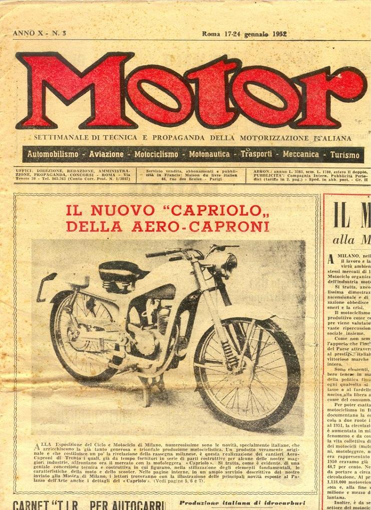 Косуля Сто50, 1953 - 1956 Capriolo Cento50 6