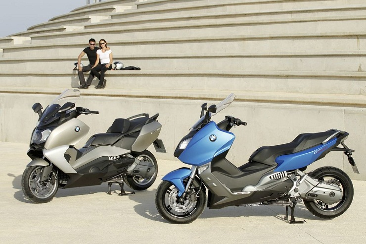 фото скутера BMW С 600 GT и BMW C 600 Sport
