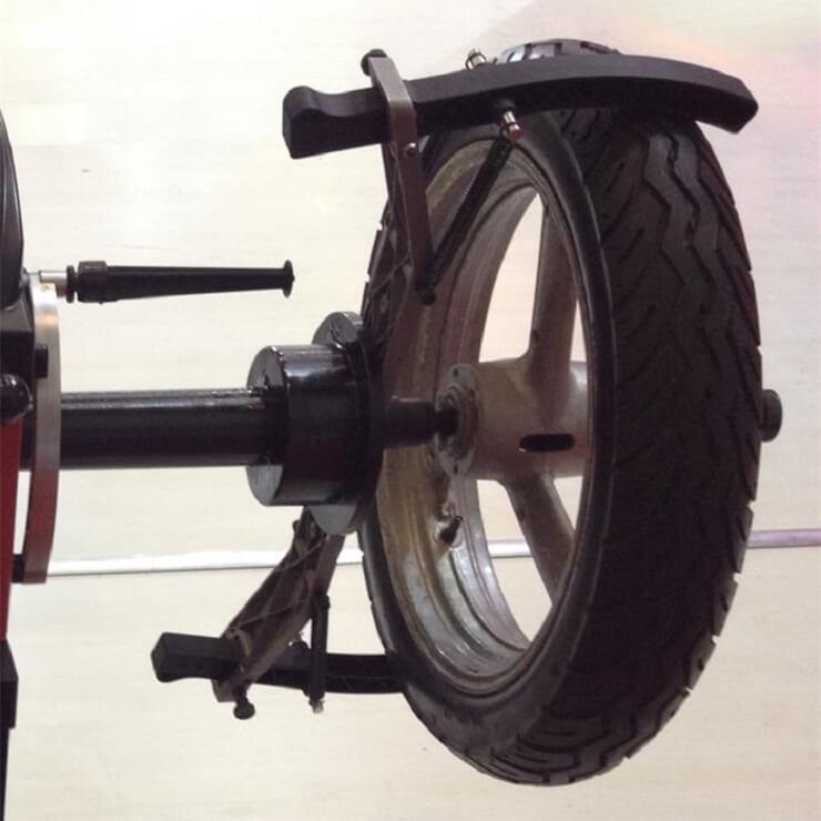 Балансировка колес мотоцикла