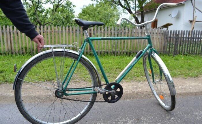 velosiped «Аист»