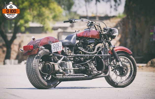 мотоцикл Trailblazer из легковушки Сузуки