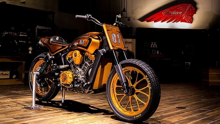 Indian Scout By Midwest Urban Dirt Tracker