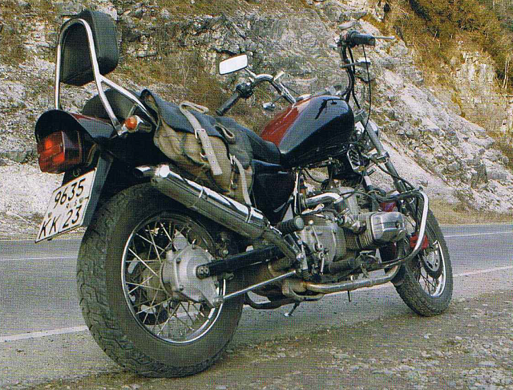 Инжекторный мотоцикл Урал