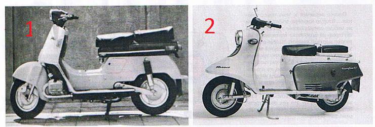 первые скутеры с гидростатической трансмиссией