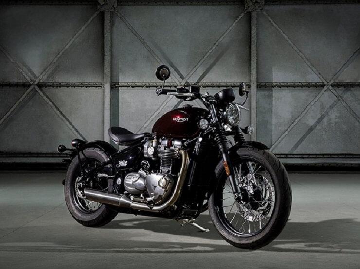 мотоцикл Bonneville Bobber