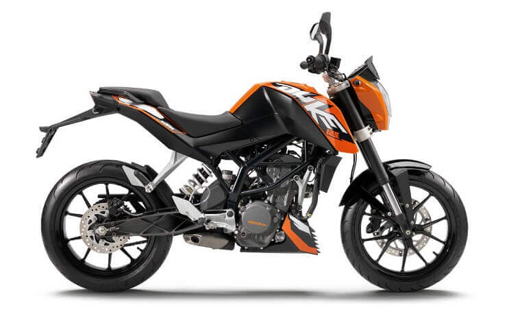 мотоцикл КТМ 125 Duke :