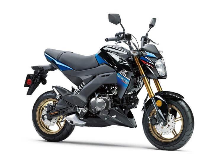мотоцикл Kawasaki Z125 Pro 2018