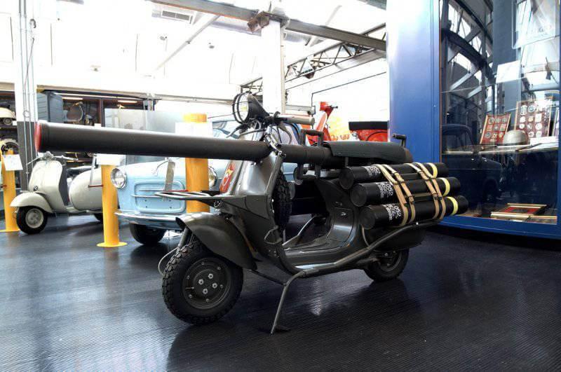 Мотороллер-САУ Vespa 150 TAP