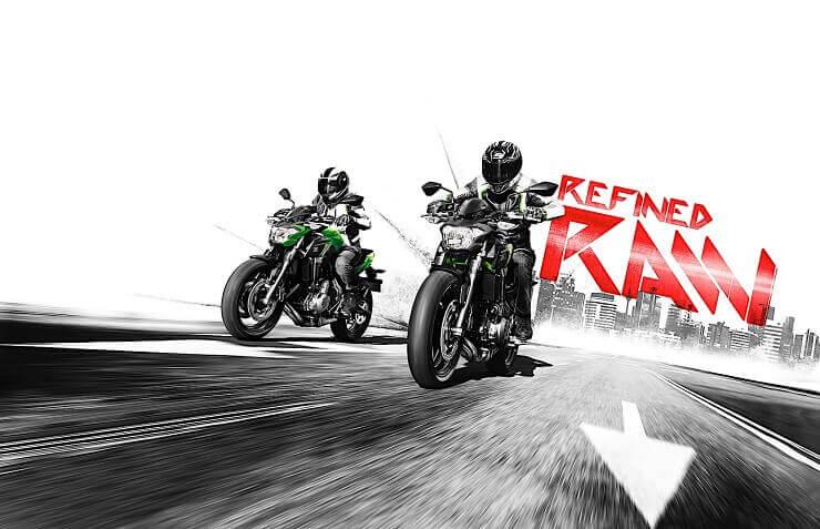 Мотоциклы Kawasaki Ninja 650 и Z650