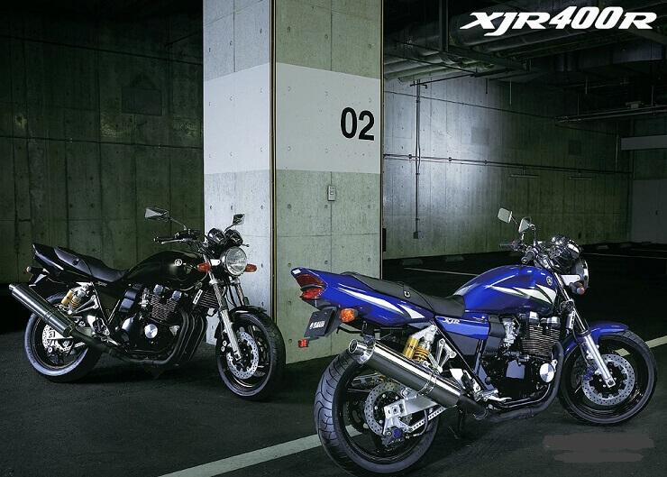 обзор мотоциклаYamaha XJR 400.