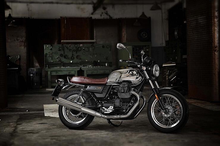 новый мотоцикл Moto Guzzi  V7 III