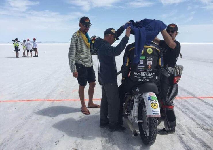 """Мировой рекорд скорости на мотоцикле """"Днепр"""""""