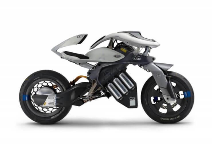 «умный» электрический мотоцикл.