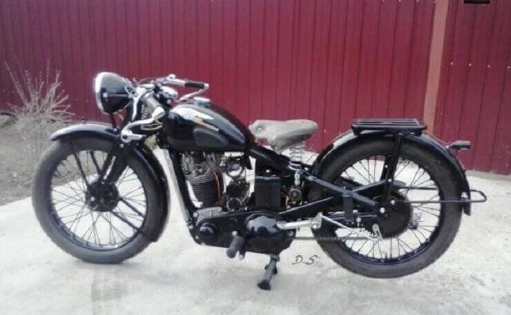 Реставрированный ИЖ-12 1941 года
