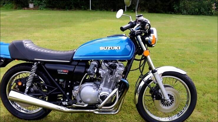 мотоцикл Suzuki GS750