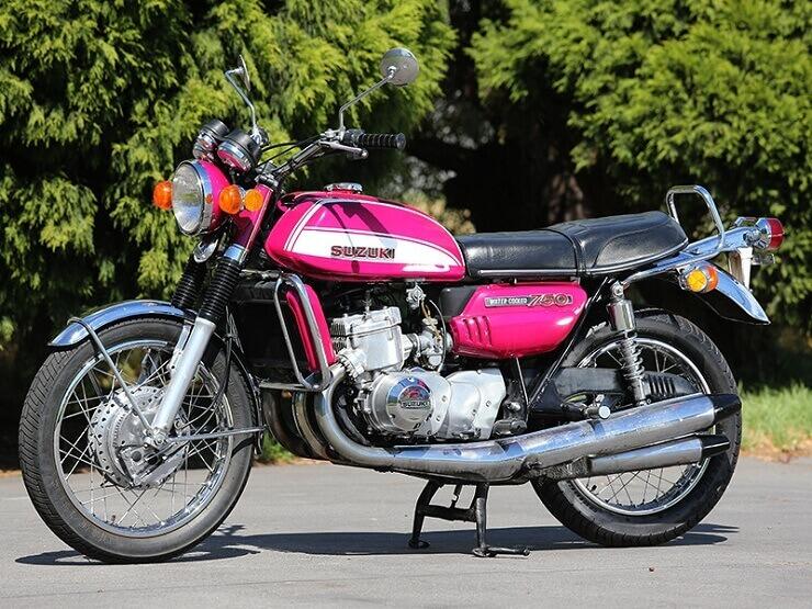 мотоцикл Suzuki GT750