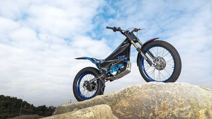 Yamaha показала электромотоцикл для триала TY-E