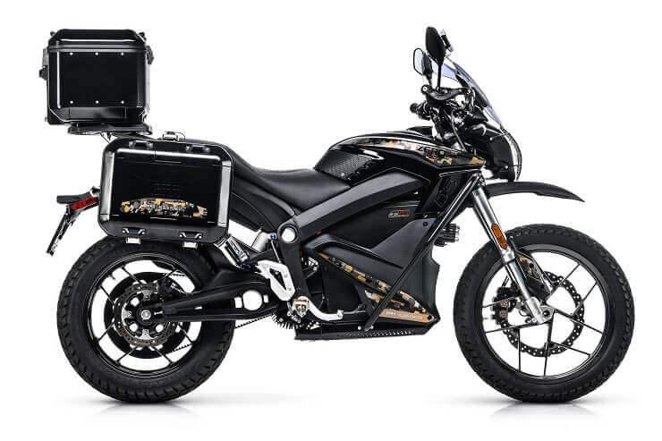электромотоцикл Zero DSR Black Forest Edition.
