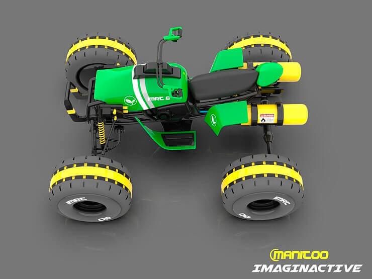 Квадроцикл на водороде - концепт будущего