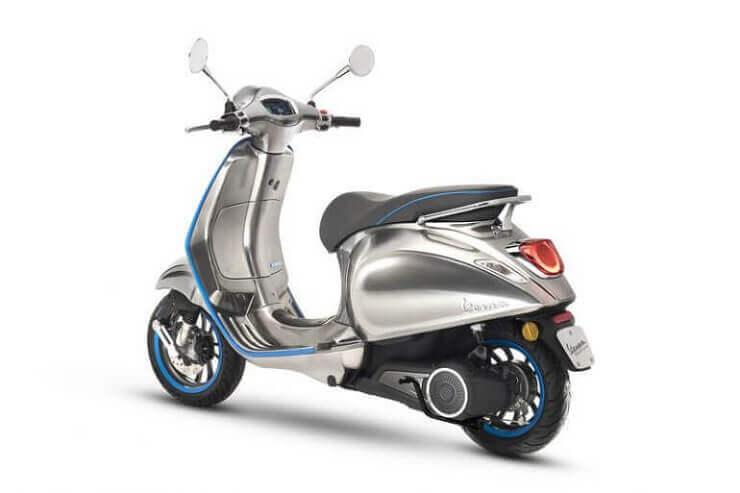 Vespa выпустит первый электрический скутер