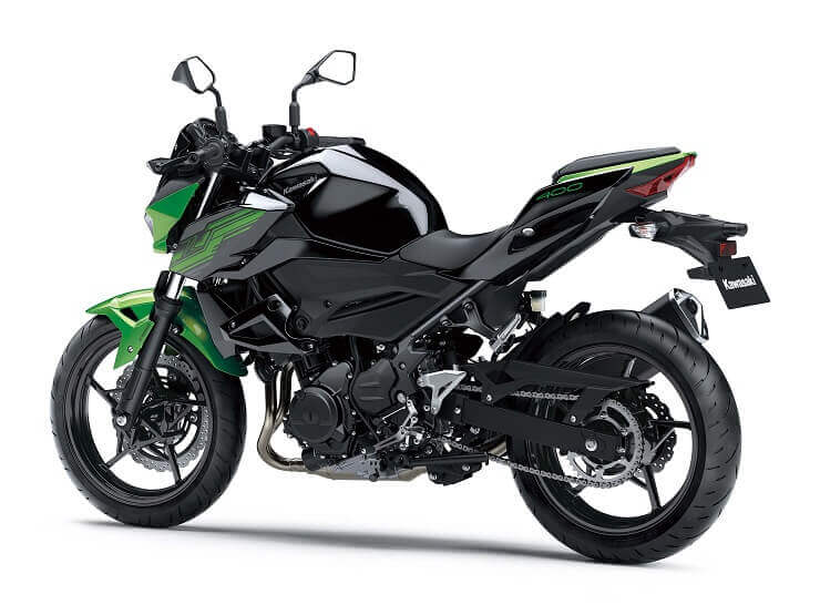 Дебютировал нейкед Kawasaki Z400