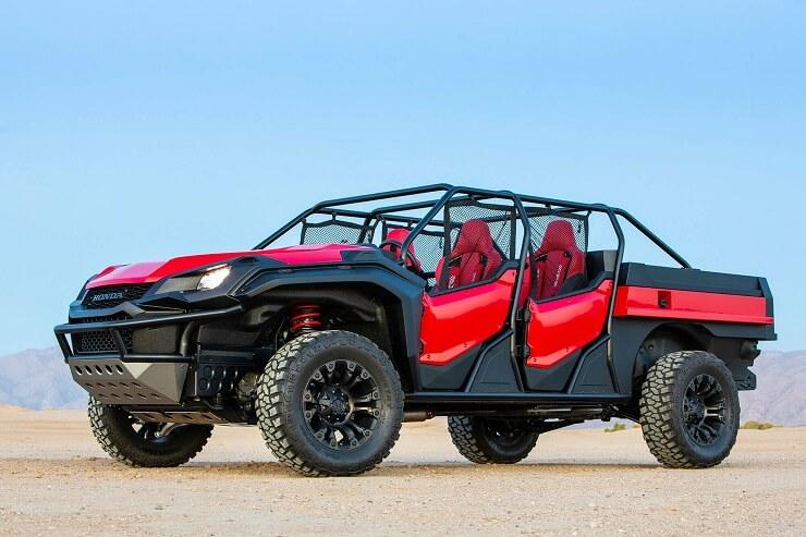 Honda показала концептуальный мотовездеход