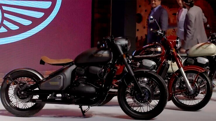 Jawa нашумела новыми мотоциклами