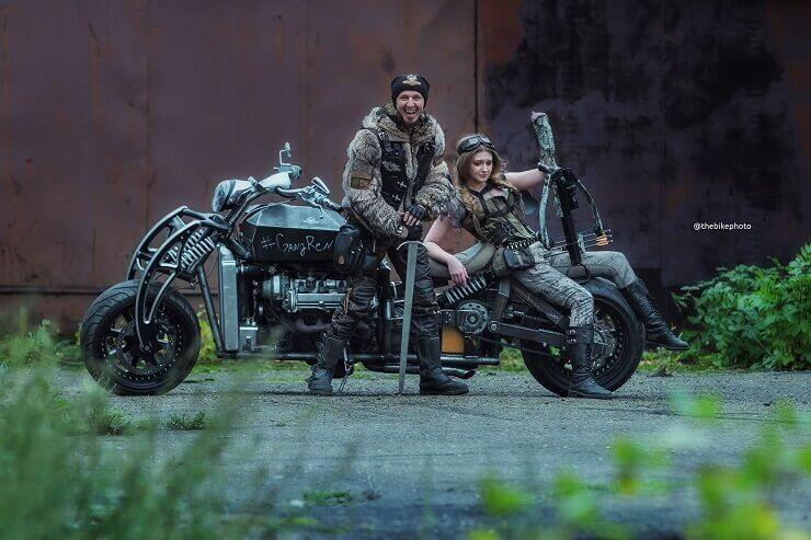«300-сильный» кастом-мотоцикл GangRena