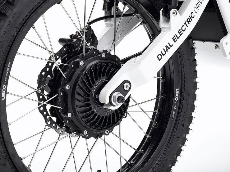 Ubco 2х2 — полноприводный электрический мотоцикл
