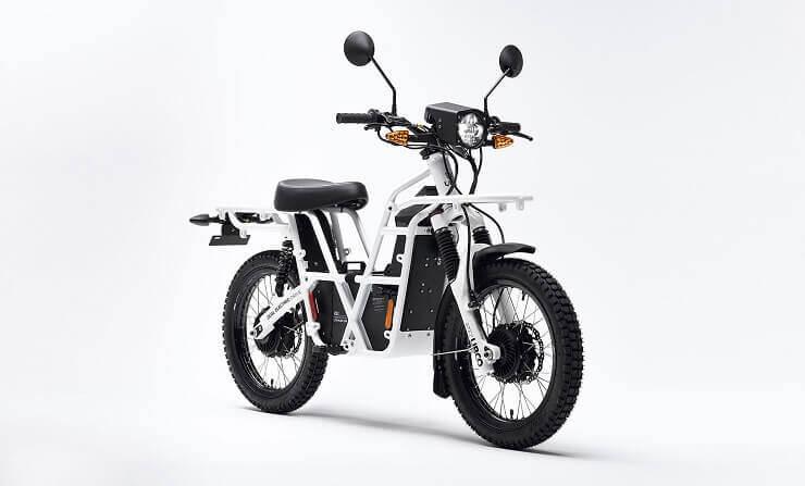 Ubco 2х2 - полноприводный электрический мотоцикл