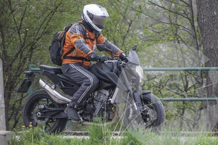 KTM готовит новую линейку мотоциклов