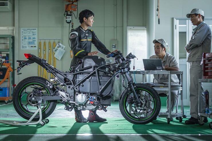 Kawasaki EV Project - мотоцикл на электротяге